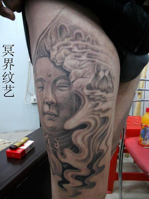 小如来佛祖纹身手稿分享展示